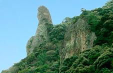 龍水亭付近の景観