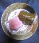 桜餅と練りきり