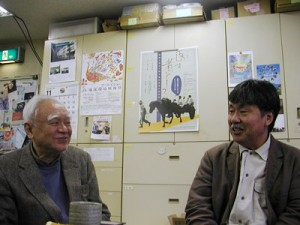小泉修吉プロデューサーと鈴木正義監督