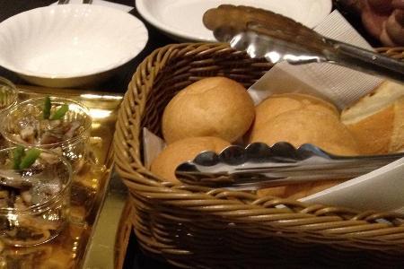 創作料理の会テーブル