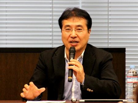 飯田哲也さん=環境エネルギー政策研究所所長