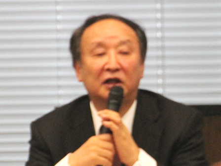 金子勝さん=慶應義塾大学経済学部教授