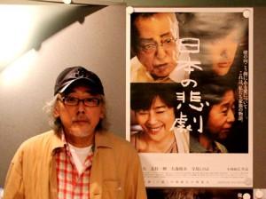 小林政広監督 2013年6月4日撮影=宮沢さかえ