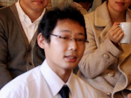 飯島学さん:浦和商業定時制課程卒業生。太鼓集団「響」メンバー・HIBIKI CAFEスタッフ