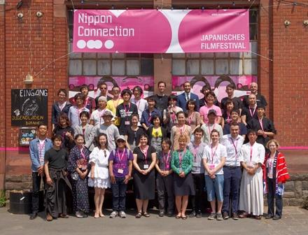 日本からのゲストとニッポン・コネクション企画関係者たち=2013年