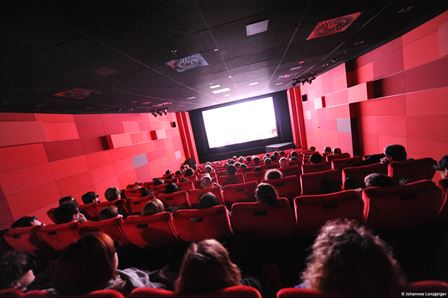 上映中の映画館