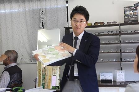 永井智也さん=東海光学株式会社