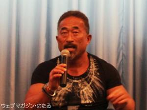 角田信明さん=格闘家。松浦役