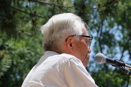 社民党埼玉県連合会・佐藤征治郎代表