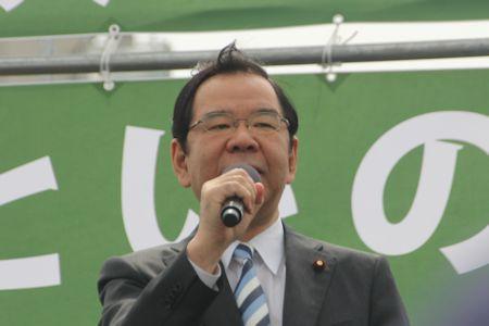 志位和夫・日本共産党委員長