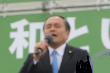 吉田忠智・社民党党首