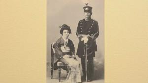 中川州男大佐の結婚写真 c 2015「追憶」製作委員会