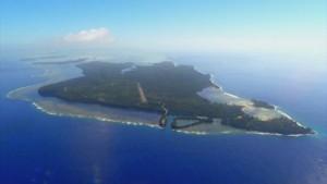 ペリリュ―島全景 c 2015「追憶」製作委員会